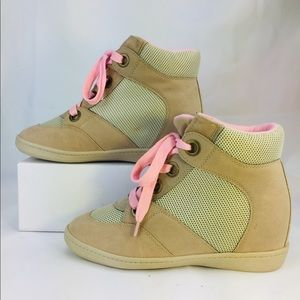 """RAMPAGE """"Hugable"""" lace up soft boots 10M"""